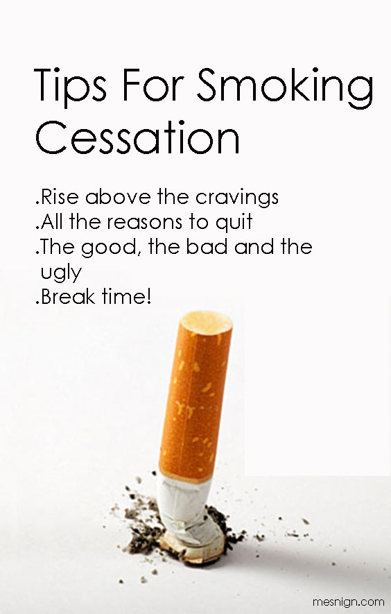 Tips For Smoking Cessation